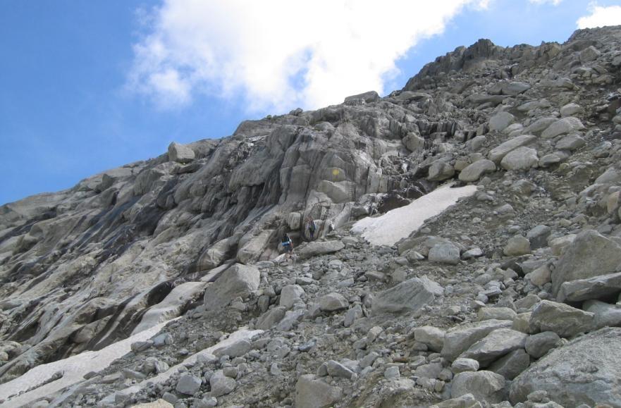 accès au Rognon- echelles