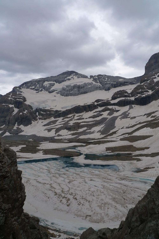 Mont-Perdu, vu depuis la brèche de Tuquerouye