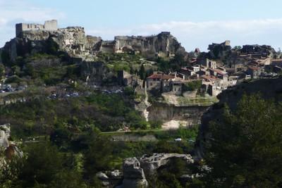 paysage dolomitique (Les Baux-de-Provence)