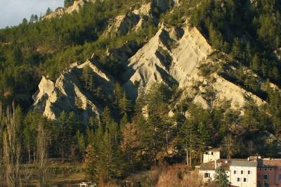 strates argilo-calcaire (Vercors, Diois)