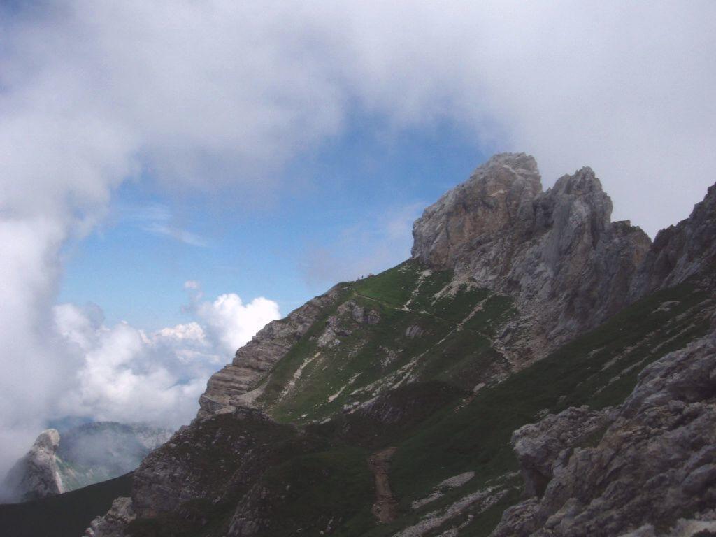 Chemin versant O de la Tournette