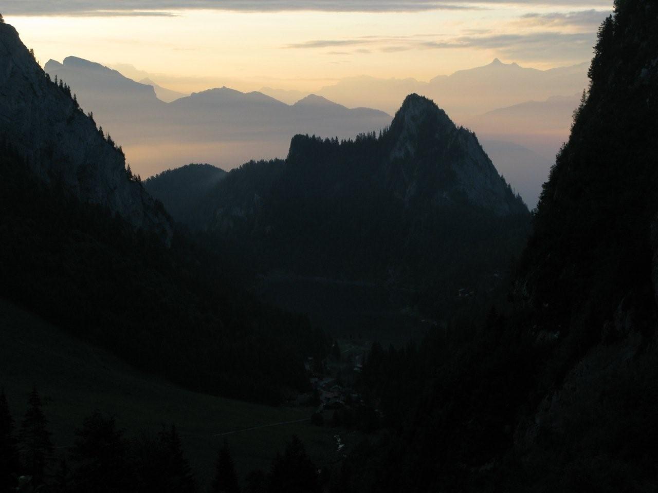 Le vallon de Tanay