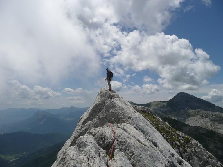 Au sommet du Gerbier