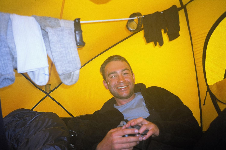 la chaleur de la tente