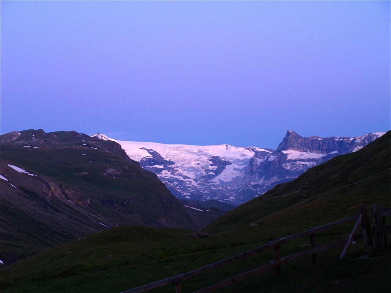 levé sur les glaciers de la Vanoise