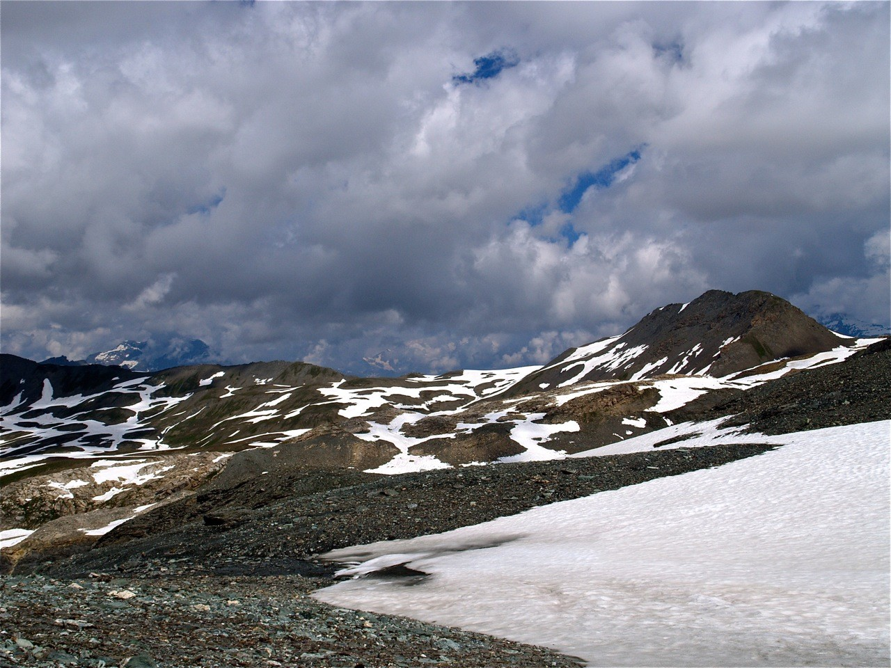 Col de la Rocheure et Pointe du Pisset