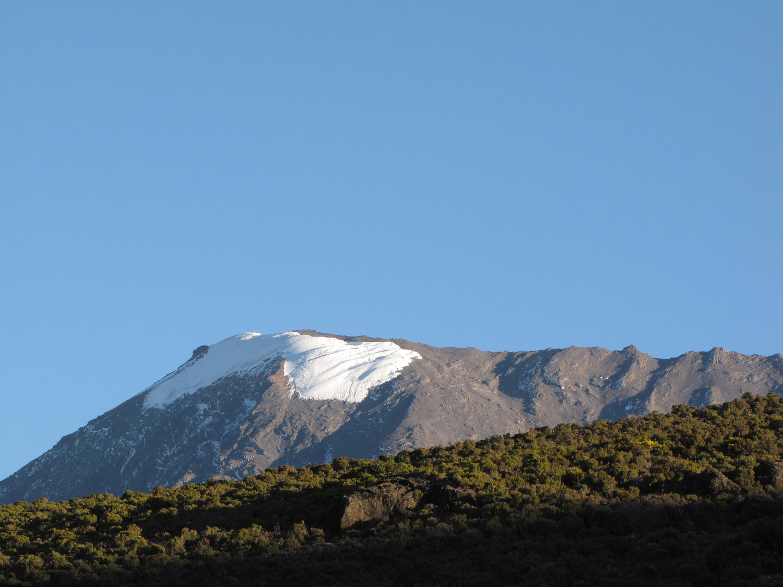 Le sommet semble si proche depuis Horombo
