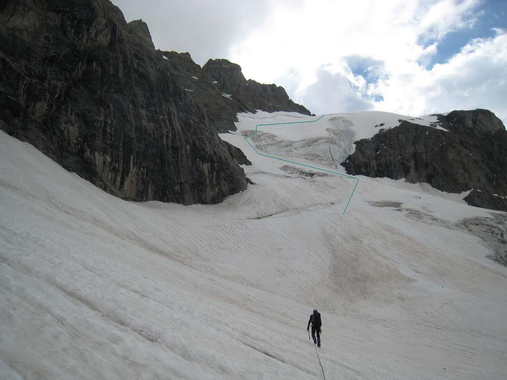 Versant W Col du Pavé