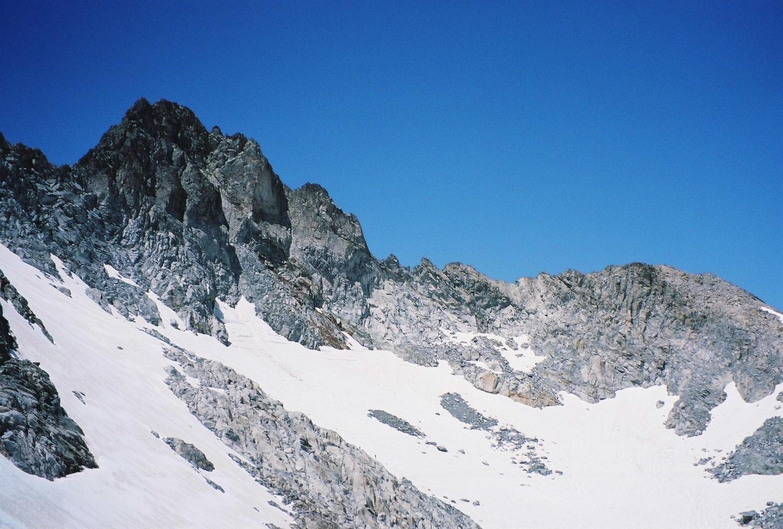 Pic Long, son glacier (si si) et pic Maubic