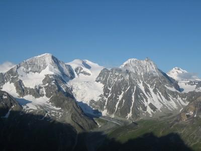 Pigne dklzzwxh:0002Arolla, Serpentine et Mont Blanc de Cheilon