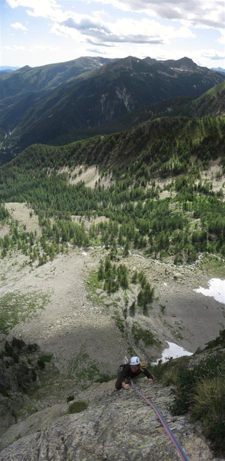 L'envol du destin - Depuis R4, vue du vallon des Erps.