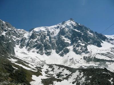 Nordwand der Aiguille du Midi