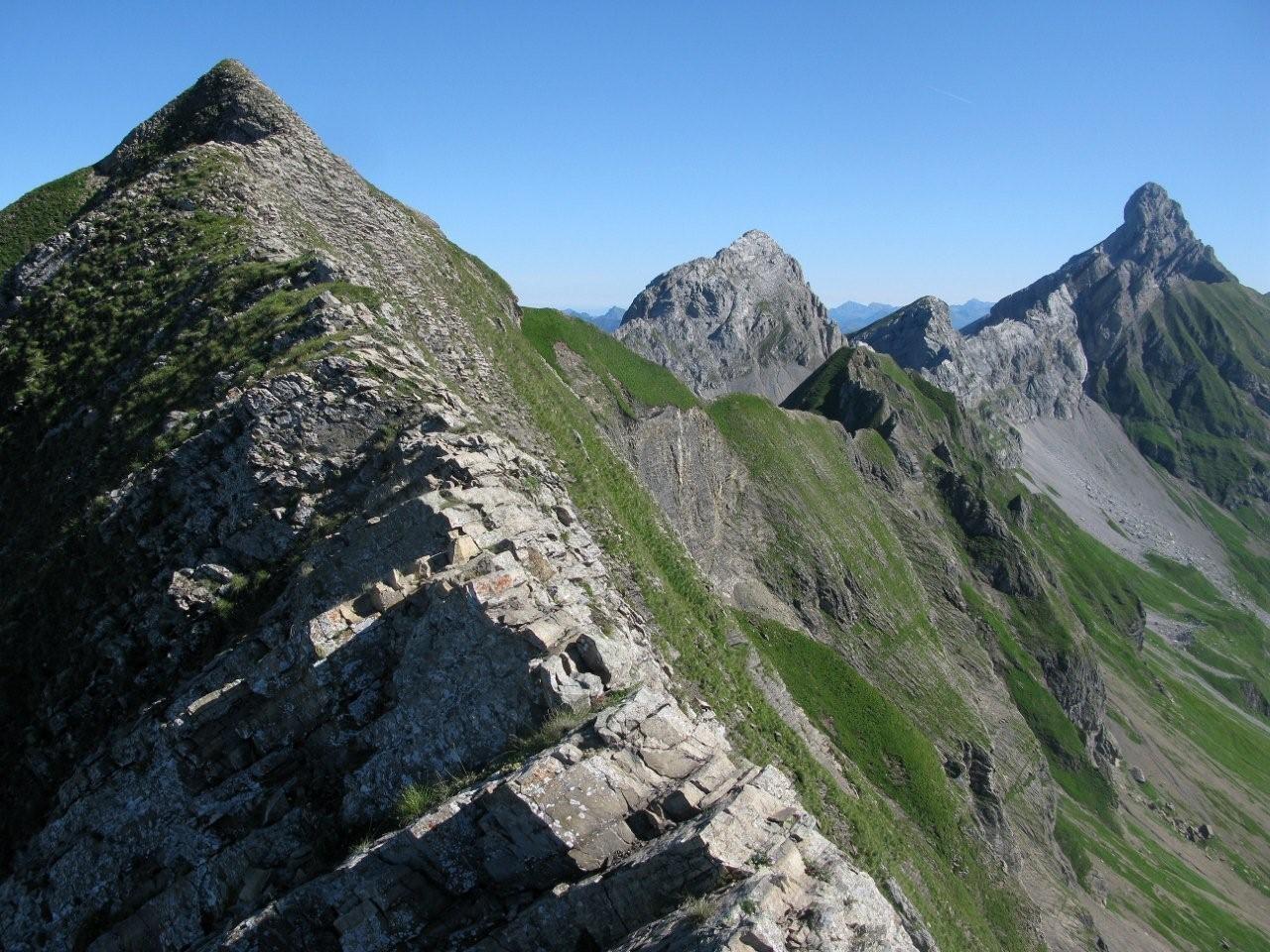 Arête du Mont Fleuri Charvet et Pointe Percée