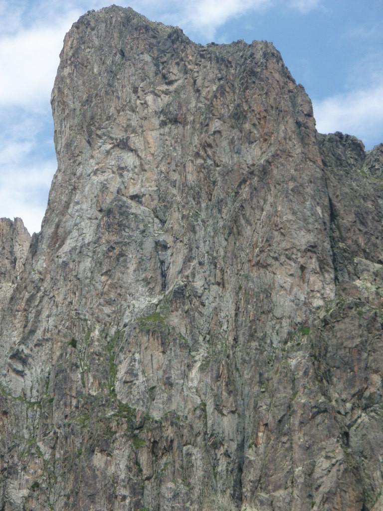 Tour des Crochues, versant SW