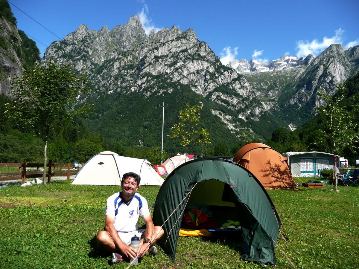 Camping de Filorera, Val Masino