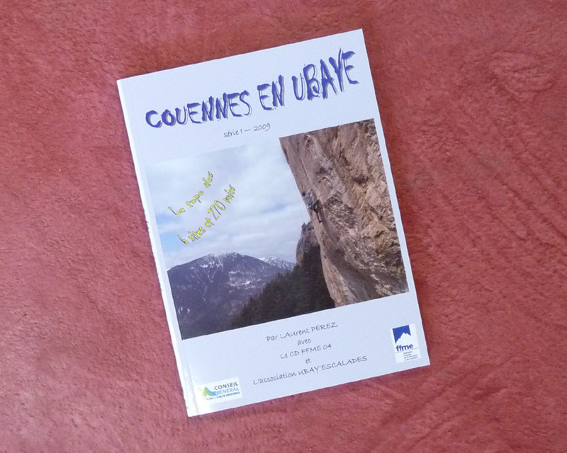 """TOPO """"Couennes en Ubaye"""""""