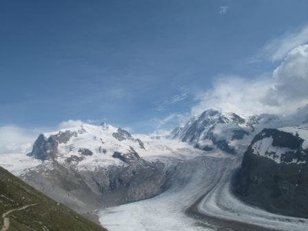 Mont Rose et Lyskamm
