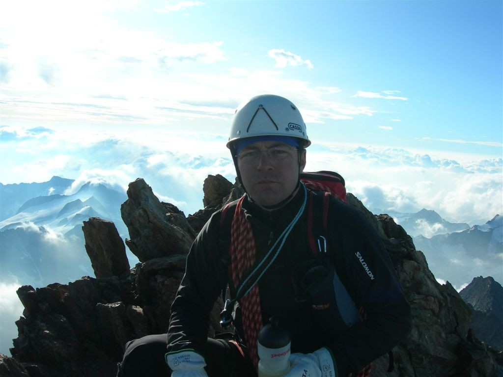 Christophe au sommet