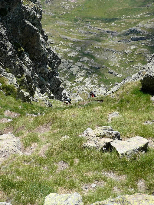 Pico de Anayet - Cheminée
