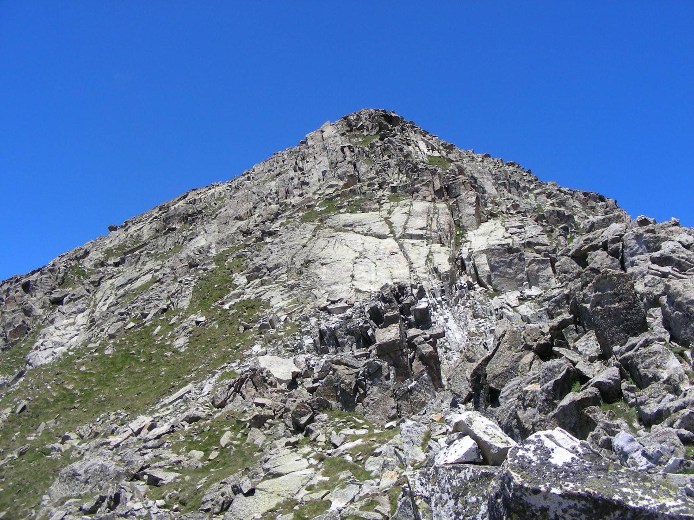 L'arête SE du Pico de Comalesbienes