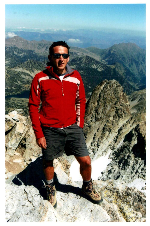 Au sommet du Néouvielle, 3091m