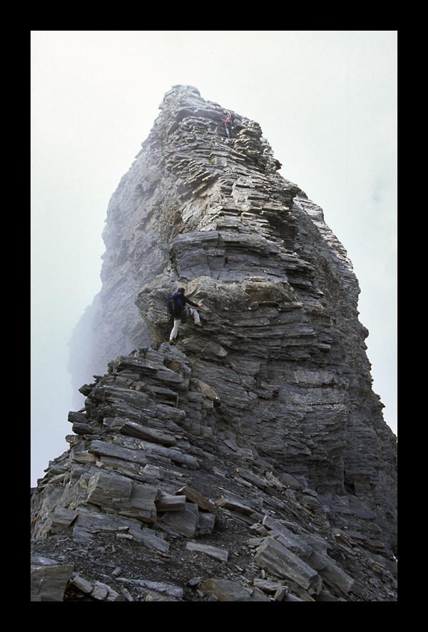 La grimpette au Sierra Morena (foto Sergi)