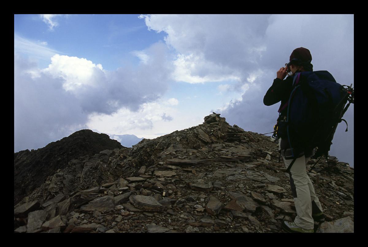 Troumouse et Heid depuis le Sierra Morena (foto Sergi)