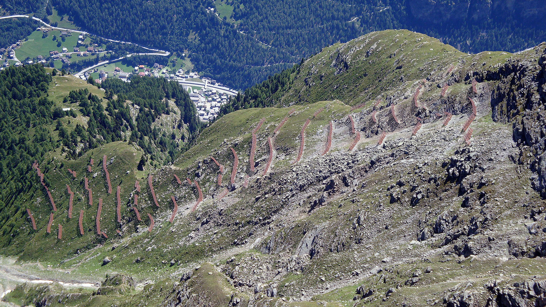Pare-avalanche sur St. Niklaus
