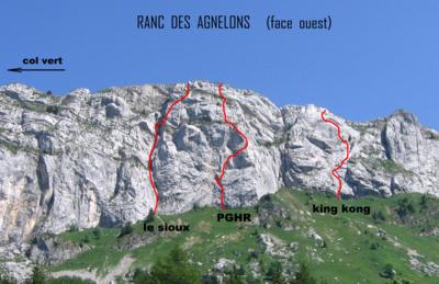 Ranc des Agnelons - cara W