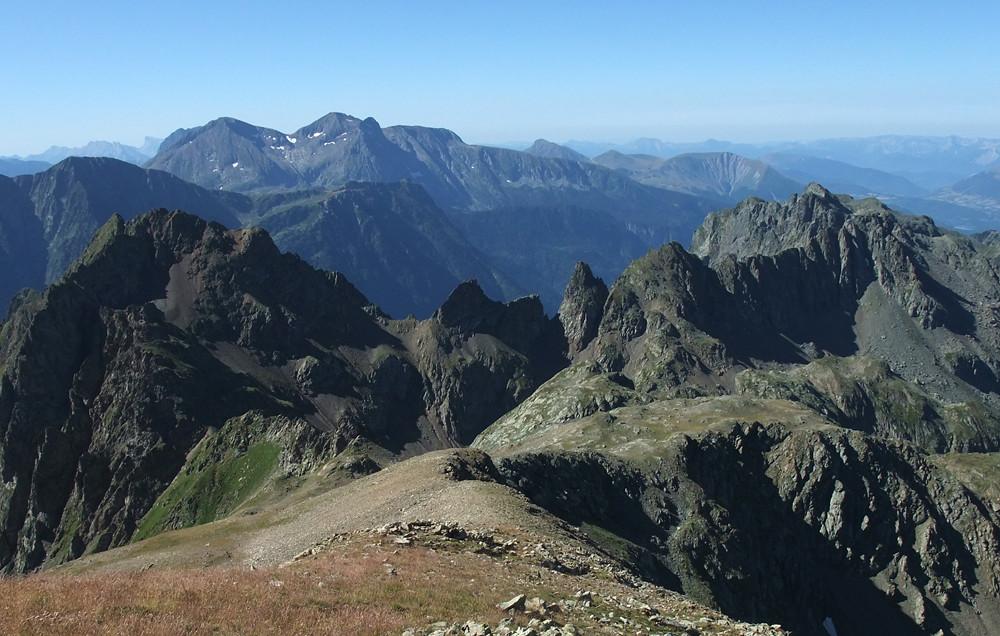 Ligne de crête Pic de Mirebel - Pointes de Jasse Bralard