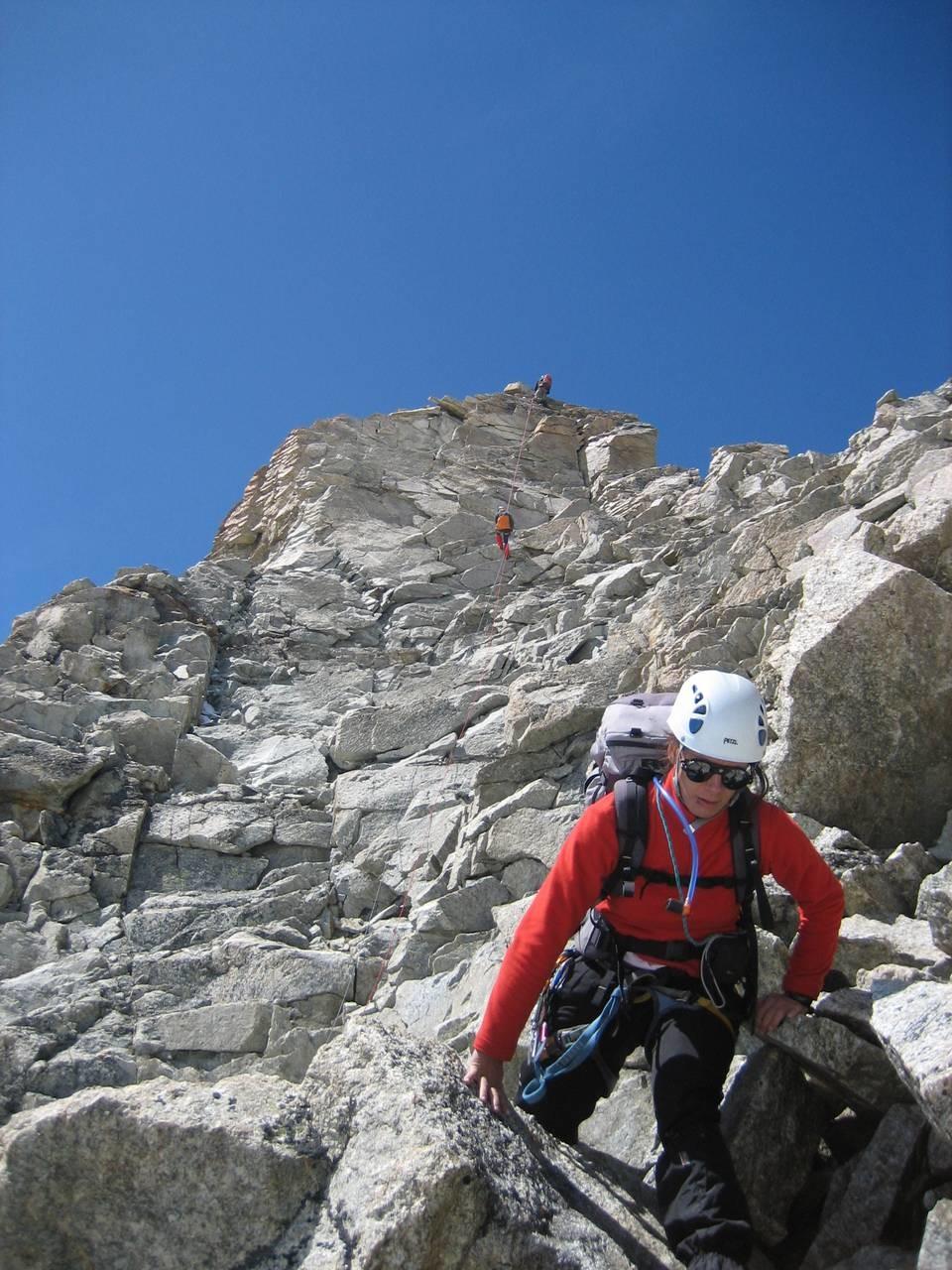 Rappel de descente du sommet