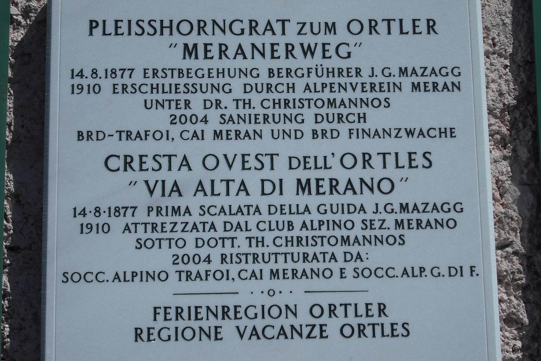 l'iscrizione al rifugio Borletti