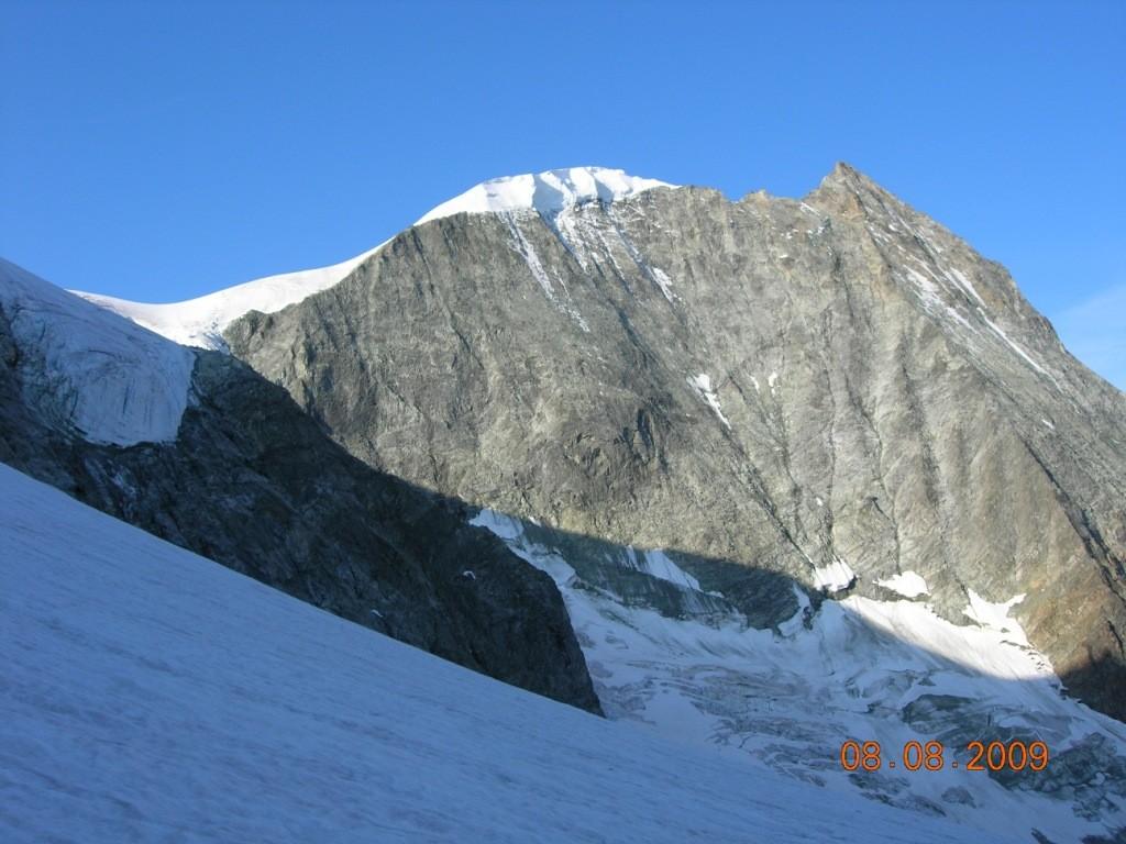 Mt. cheilon de puis le début du glacier de serpentine