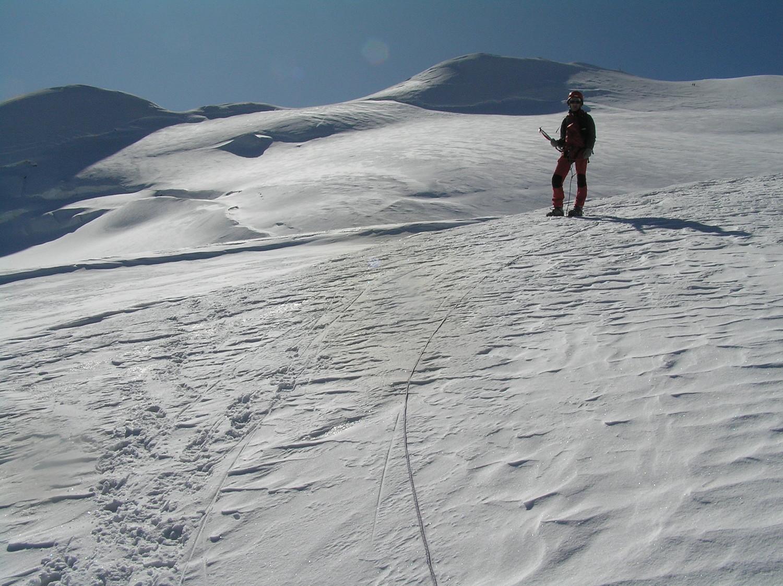 Le sommet depuis le haut du couloir du Gardien