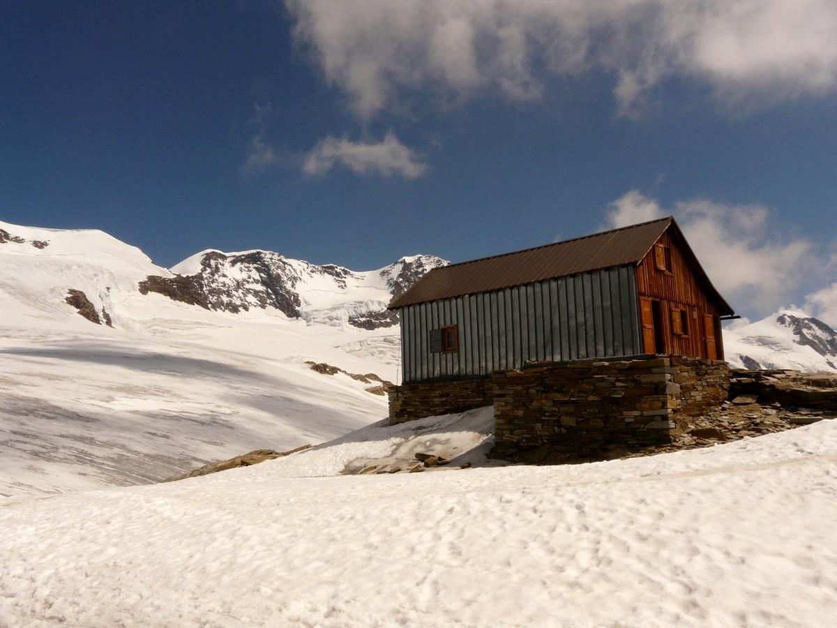 refuge Quintino Sella - local d'hiver