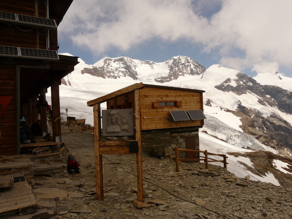 refuge Quintino Sella  - local toilettes