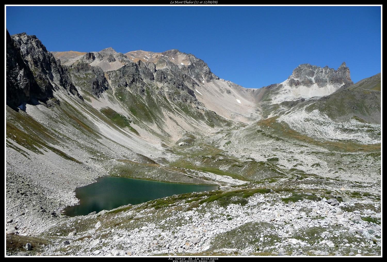 Lac du Peyron devant le Thabor