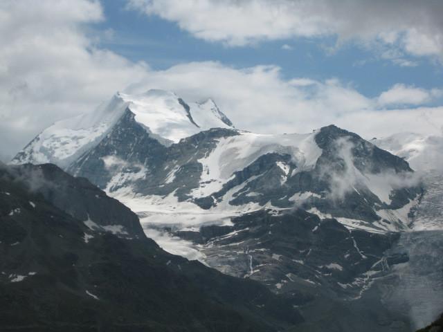 Bishorn en montant sur Chalte Berg