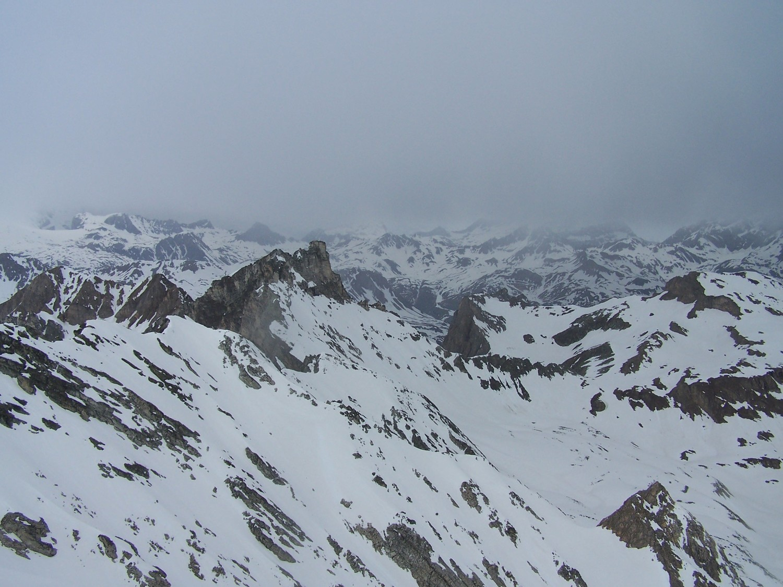 Aig.du Dôme, et le mauvais temps sur la Vanoise.