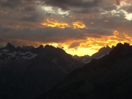 lever de soleil Bec du Canard