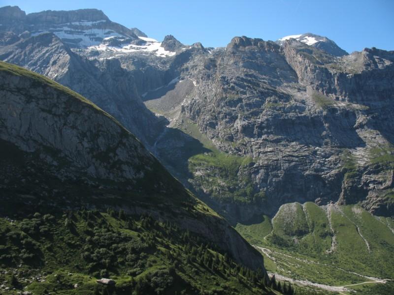 Petit Arcelin - Depuis versant col Rosset