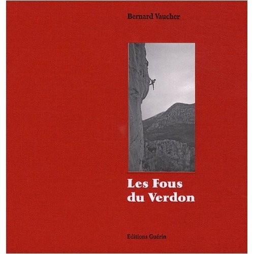 Les fous du Verdon - Premiere de couverture.
