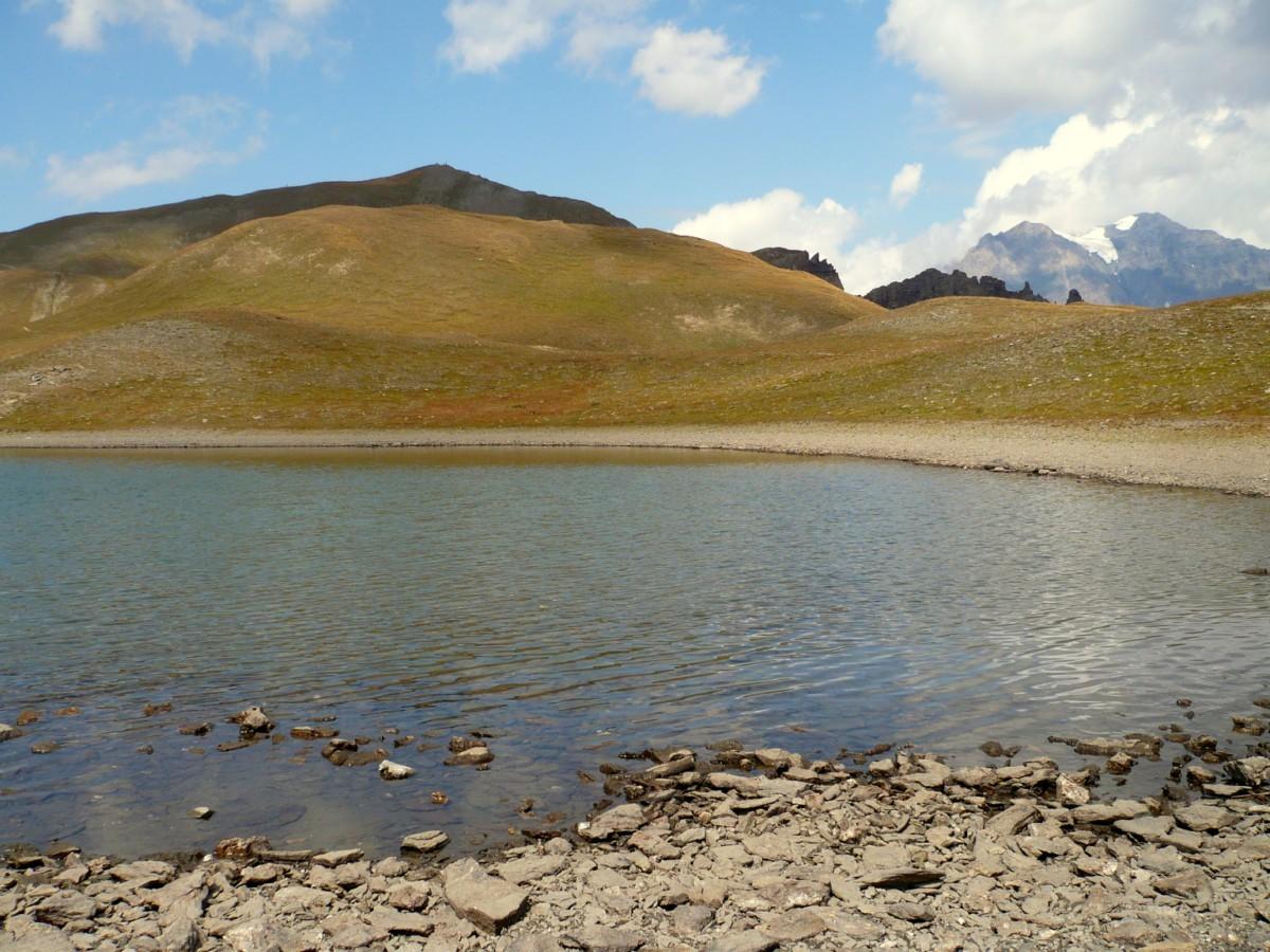 Sommet depuis les lacs