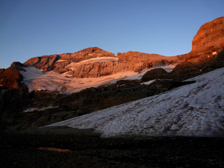 Lever de soleil du le Mont Perdu
