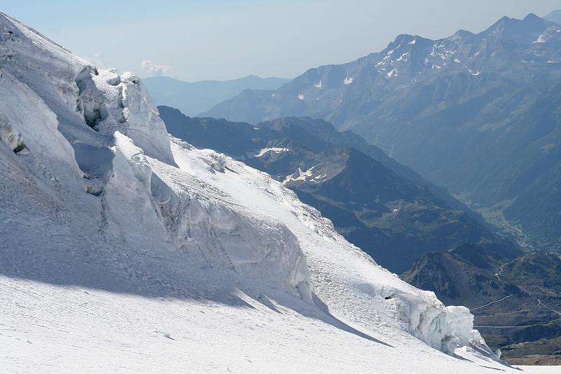 Séracs du glacier du Lys