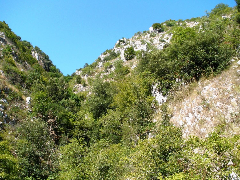 Remontée vers Santopadre depuis la vallée de la Melfa