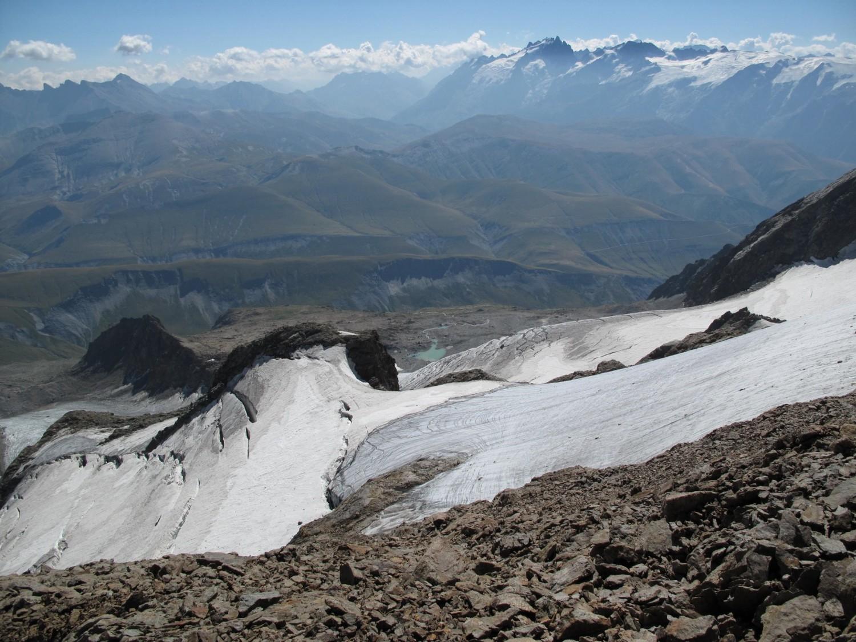Le glacier des Quirlies