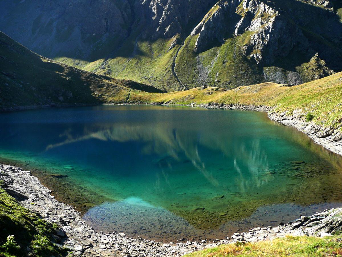 Lago di Lovalidec, Val Clavalité (Aoste)