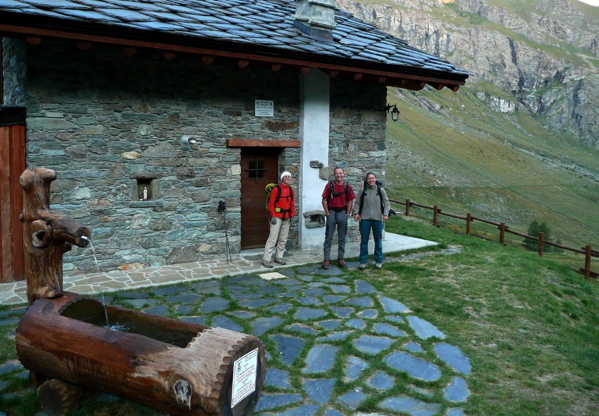 Bivacco Egidio Borroz, Val Clavalité (Aoste)