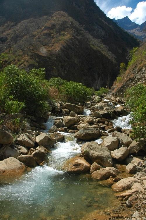 Le fameux Rio Blanco, 1800msnm